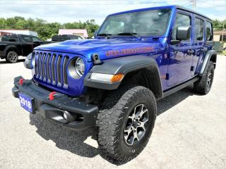 Used 2018 Jeep Wrangler Unlimited Rubicon | Blind Spot Detection | Remote Start | Navigation for sale in Essex, ON