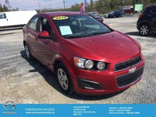 Used 2014 Chevrolet Sonic LS Manual for sale in Yarmouth, NS