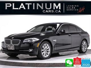 Used 2012 BMW 5 Series 528i xDrive, AWD, NAV, CAM, SUNROOF, BT for sale in Toronto, ON
