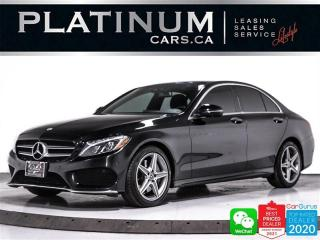 Used 2017 Mercedes-Benz C-Class C300 4MATIC, AWD, AMG PKG, CAM, NAV, HEATED, PANO for sale in Toronto, ON