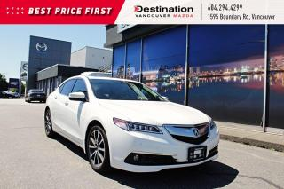 Used 2015 Acura TLX V6 Elite - premium leather interior, SH-AWD! for sale in Vancouver, BC