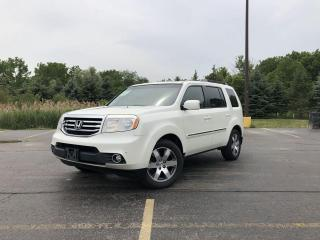 Used 2015 Honda Pilot Touring 4WD for sale in Cayuga, ON