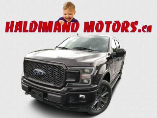 Used 2018 Ford F-150 Lariat SPORT CREW FX4 4WD for sale in Cayuga, ON