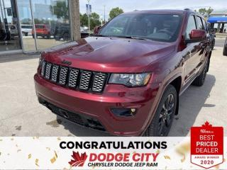 New 2021 Jeep Grand Cherokee Altitude-4WD,Nav,Wi-Fi,Leather,Htd.Seats for sale in Saskatoon, SK