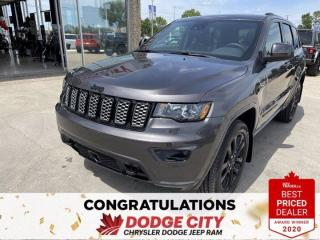 New 2021 Jeep Grand Cherokee Altitude-4WD,Leather,Remote Start,Nav,Htd.Seats for sale in Saskatoon, SK