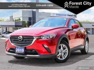 Used 2019 Mazda CX-3 GS  ( ONE OWNER , LOW KILOMETERS ) for sale in London, ON