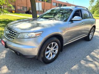 Used 2008 Infiniti FX35 AWD 4dr Limited Edition Navigation Back-Up Cam for sale in Mississauga, ON
