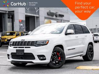 Used 2019 Jeep Grand Cherokee SRT 475hp 4x4 High Performance Audio Panoramic Roof for sale in Thornhill, ON