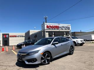 Used 2017 Honda Civic 2.99% Financing - TOURING - NAVI - SUNROOF - LEATHER for sale in Oakville, ON