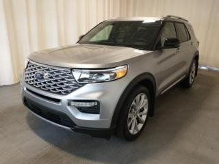 New 2021 Ford Explorer Iconic Silver 601A for sale in Regina, SK