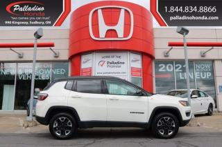 Used 2018 Jeep Compass Trailhawk - NEW FRONT AND REAR BRAKES - for sale in Sudbury, ON