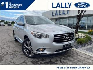 Used 2015 Infiniti QX60 Leather, Roof, Nav!! for sale in Tilbury, ON