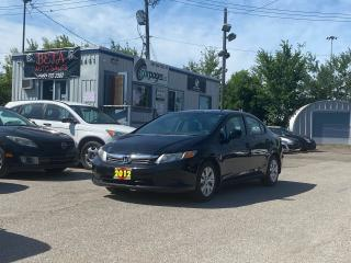 Used 2012 Honda Civic LX for sale in Kitchener, ON
