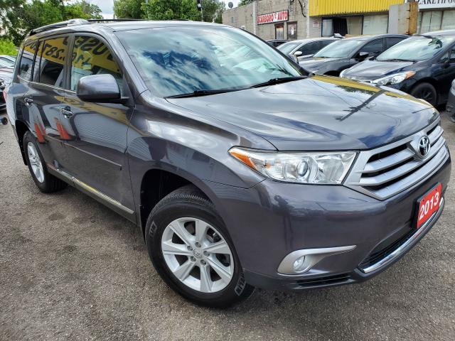 2013 Toyota Highlander 7PASS/AWD/CAMERA/LOW KMS/VERY CLEAN