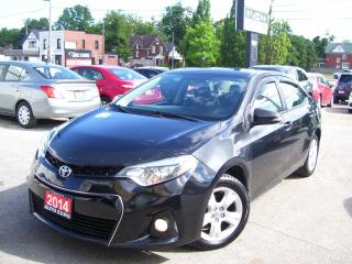 Used 2014 Toyota Corolla LEATHER,SUNROOF,BLUETOOTH,BACKUP CAMERA,CERTIFIED for sale in Kitchener, ON