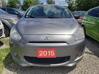 Used 2015 Mitsubishi Mirage for sale in Scarborough, ON