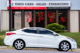 Used 2013 Hyundai Elantra Limited | Leather | Sunroof | Navi | Cam | Alloys for sale in Oshawa, ON