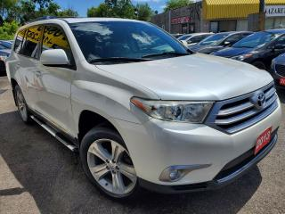 Used 2013 Toyota Highlander AWD/7PASS/CAMERA/LEATHER/ROOF/LOADED/ALLOYS++ for sale in Scarborough, ON