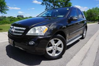 Used 2008 Mercedes-Benz M-Class RARE / 3.0 CDI / REAR DVD'S / LOCAL / STUNNING for sale in Etobicoke, ON