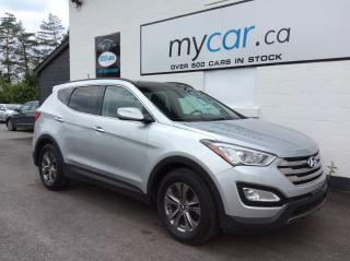Used 2016 Hyundai Santa Fe Sport 2.4 Luxury PANOROOF, LEATHER, HEATED SEATS, BEAUTIFUL LUX!! for sale in Richmond, ON