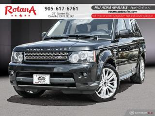 Used 2012 Land Rover Range Rover Sport 4WD 4dr HSE LUX/NAVI/REAR CAM/SUNROOF/WARRANTY for sale in Oakville, ON