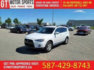 Used 2010 Mitsubishi Outlander LS | V6 | AWD | 7 PASSENGER | $0 DOWN - APPROVED! for sale in Calgary, AB