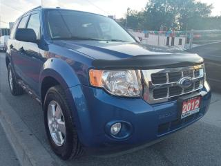 Used 2012 Ford Escape XLT-EXTRA CLEAN-181K-LEATHER-4CYL-AUX-ALLOYS for sale in Scarborough, ON