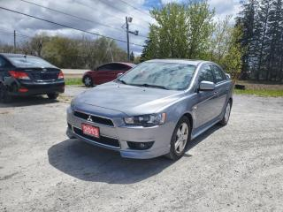 Used 2013 Mitsubishi Lancer 10TH ANNIVERSARY EDITION SUNROOF 1 OWNER for sale in Stouffville, ON