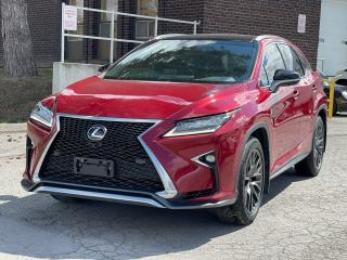 Used 2016 Lexus RX 350 F Sport 3 Navigation /Panoramic Sunroof /Heads Up Display for sale in North York, ON