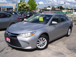 Used 2016 Toyota Camry LE,HYBRID,BLUETOOTH,BACKUP CAMERA,CERTIFIED for sale in Kitchener, ON