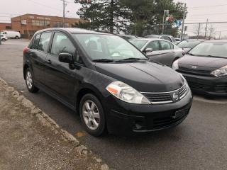 Used 2009 Nissan Versa 6SPD,ALLOYS,(SAFETY+3YEARS WARRANTY EXTRA$490 for sale in Toronto, ON