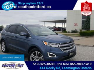 Used 2018 Ford Edge Titanium TITANIUM|AWD|HTD SEATS|NAV|ADAPTIVE CRUISE|REMOTE START|TRAILER TOW for sale in Leamington, ON