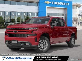 New 2021 Chevrolet Silverado 1500 RST TURBO-DIESEL | 4X4 | REMOTE START | SPRAY ON BED LINER | HD REAR VISION CAMERA | TRUE NORTH EDITION for sale in London, ON