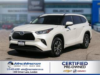 Used 2020 Toyota Highlander HYBRID XLE for sale in London, ON