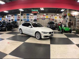 Used 2017 BMW 3 Series PREMIUM & NAVI PACKAGE AUTO LEATHER SUNROOF 80K for sale in North York, ON