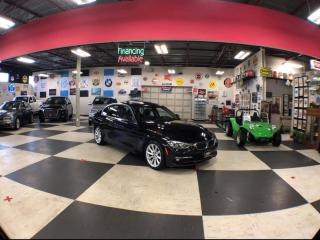 Used 2017 BMW 3 Series PREMIUM & NAVI PACKAGE AUTO LEATHER SUNROOF 52K for sale in North York, ON