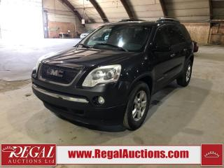 Used 2007 GMC Acadia 4D Utility AWD for sale in Calgary, AB
