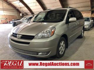 Used 2005 Toyota Sienna LE 4D WAGON for sale in Calgary, AB