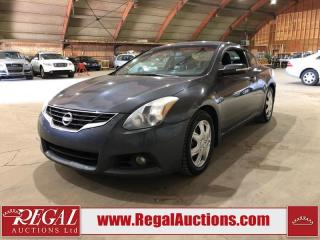 Used 2010 Nissan Altima SR 2D Coupe FWD for sale in Calgary, AB