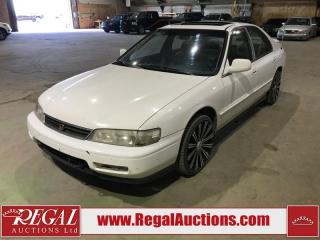 Used 1995 Honda Accord EX-R 4D Sedan V6 for sale in Calgary, AB