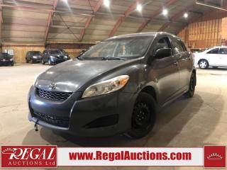 Used 2011 Toyota Matrix 4D Hatchback for sale in Calgary, AB