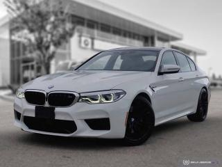 Used 2018 BMW M5 Sedan M Performance Exhaust! Premium! Advanced Driver Assist! for sale in Winnipeg, MB