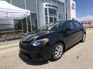 Used 2014 Toyota Corolla LE for sale in Winnipeg, MB