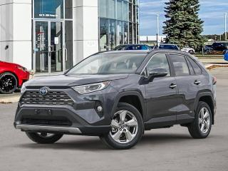 New 2021 Toyota RAV4 Hybrid Limited AWD for sale in Winnipeg, MB