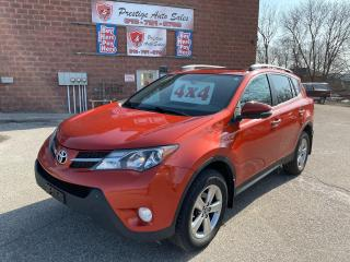 Used 2015 Toyota RAV4 XLE/AWD/2.5L/SUNROOF/NO ACCIDENTS/SAFETY INCLUDED for sale in Cambridge, ON