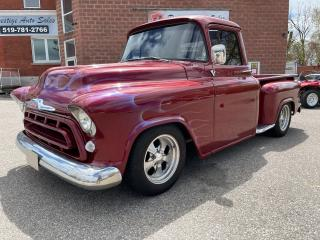 Used 1957 Chevrolet 3100 Pickup STEPSIDE/IRON-Z 305/5L/700R4 TRANSMISSION/SAFETY for sale in Cambridge, ON