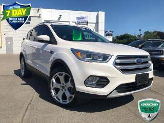 Used 2017 Ford Escape Titanium LEATHER AWD NAVIGATION SUNROOF for sale in Hamilton, ON