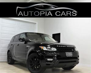 Used 2016 Land Rover Range Rover Sport 4WD Td6 HSE DIESEL HEADS UP BLIND SPOT NAVI for sale in North York, ON