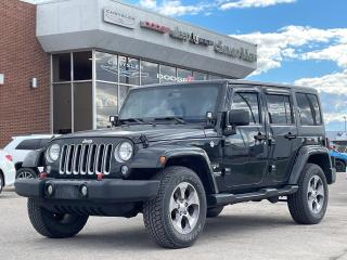 Used 2016 Jeep Wrangler Unlimited Sahara NAVI/UCONNECT/REMOTE STARTER for sale in Concord, ON