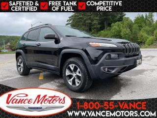 Used 2018 Jeep Cherokee Trailhawk 4x4...BLUETOOTH*SUNROOF*HTD SEATS! for sale in Bancroft, ON